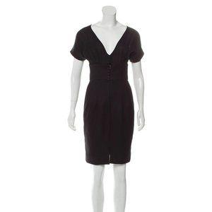 Aquascutum Black Wool Dress